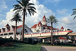 Grand Floridian Resort Monorail