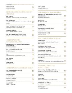 Full list of 2015 Oscar Nominations and my Picks for the the Academy Awards - Page 2