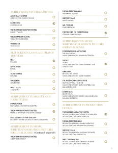 Full list of 2015 Oscar Nominations and my Picks for the the Academy Awards - Page 3