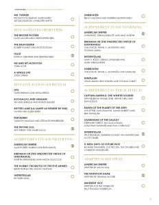 Full list of 2015 Oscar Nominations and my Picks for the the Academy Awards - Page 4