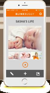 Blinkbuggy Baby Book Online iPhone App