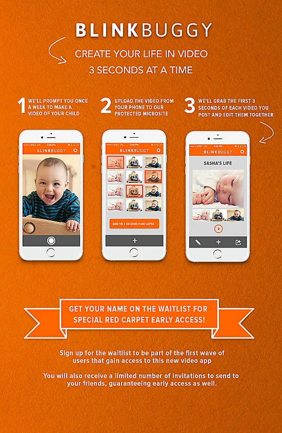 Blinkbuggy Baby Book Online iPhone App