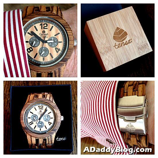 Tense Wooden Watch