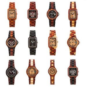 Tense Wooden Watchs
