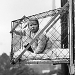 Vintage Photo of Child - #ParentingFail
