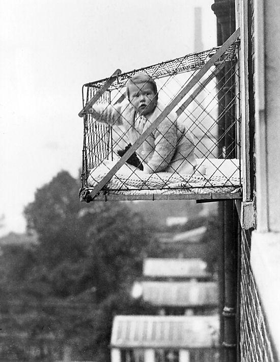 Vintage Parenting Tip 42 Fresh Air For Baby Parentingfail