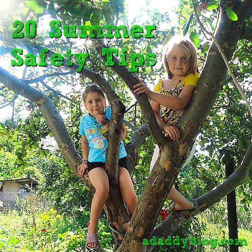 20 Summer Safety Tips for Kids