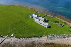 Cottage for sale on a private island in Orkney