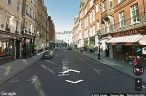 Google Streetview - London, England