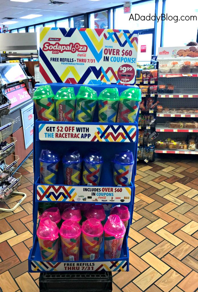 Soda racetrac free refills