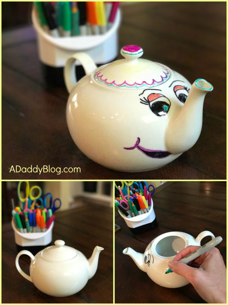 Beauty and the Beast mrs. Potts craft