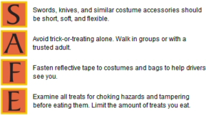 13 Halloween Safety Tips