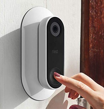 35 ° Wedge Wallplate For Nest Hello