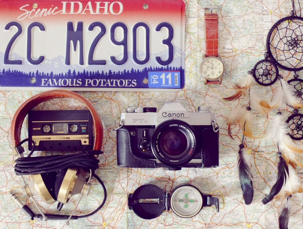 Vintage American Family Travel