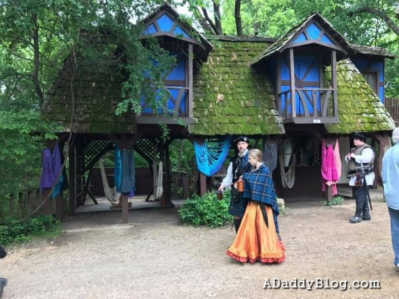 Strolling the shoppes of Scarborough Renaissance Festival