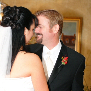 Shannon & Michael Schmid on their wedding day, September 9, 2004
