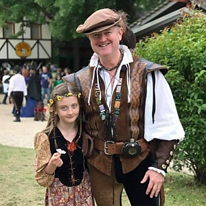 Scarborough Renaissance Festival - A Fairy and a Rogue